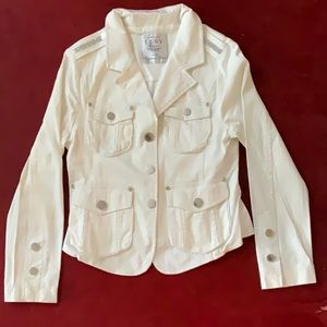 Other - Limited Edition ELSY white jacket